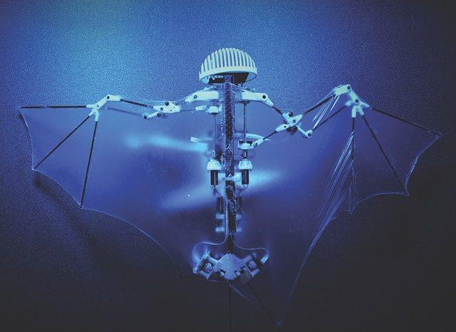 用于监控、维护和维修的仿生飞行无人机